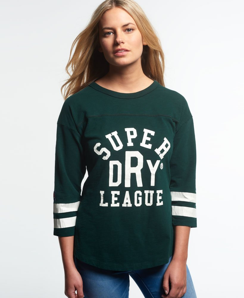 Superdry Tri League Baseball Top thumbnail 1