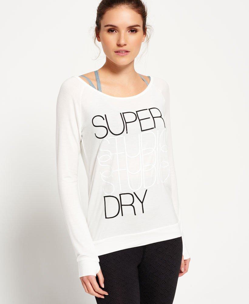 promo code 3b493 f4b74 Superdry Studio Drape Shirt - Damen Oberteile
