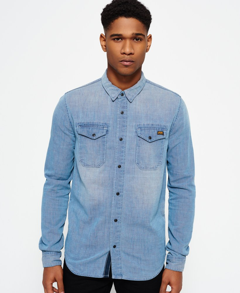 Superdry Roadster Denim Shirt thumbnail 1