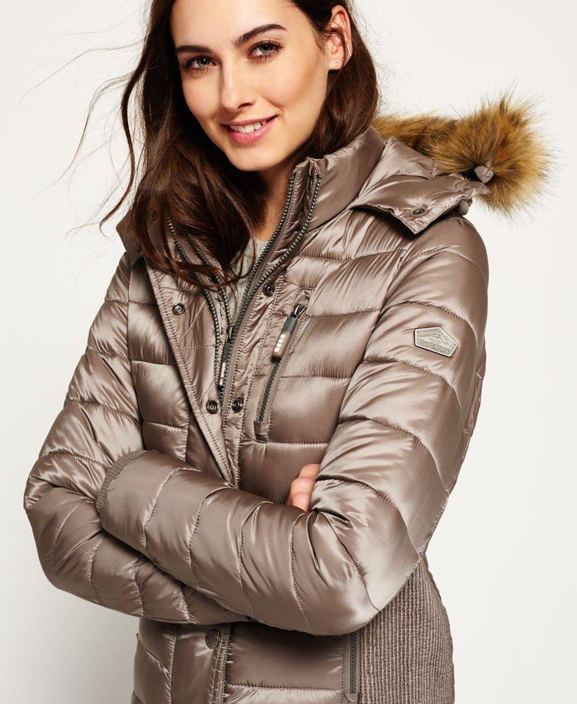 Double Luxe Fuji Women's Hooded Superdry Zip Jacket SqUzMVpG