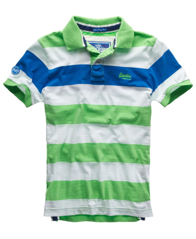Superdry Lime Hoopstripe Fresh In Chest Mens Polo 5qYf1XUx fac9c6deb6f
