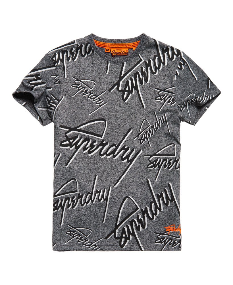 Superdry Superdry Crew All Over Print T-shirt