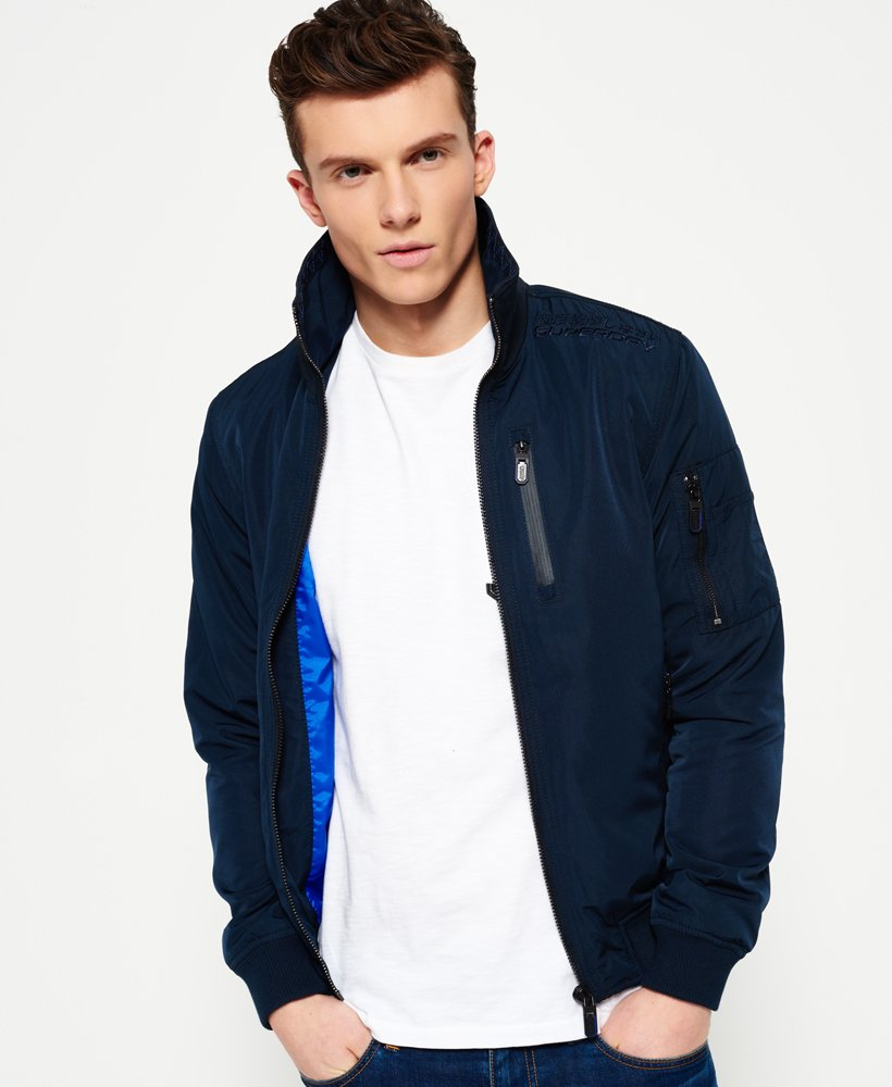Superdry Moody Night Flight Lite Bomber Jacket Men's Jackets