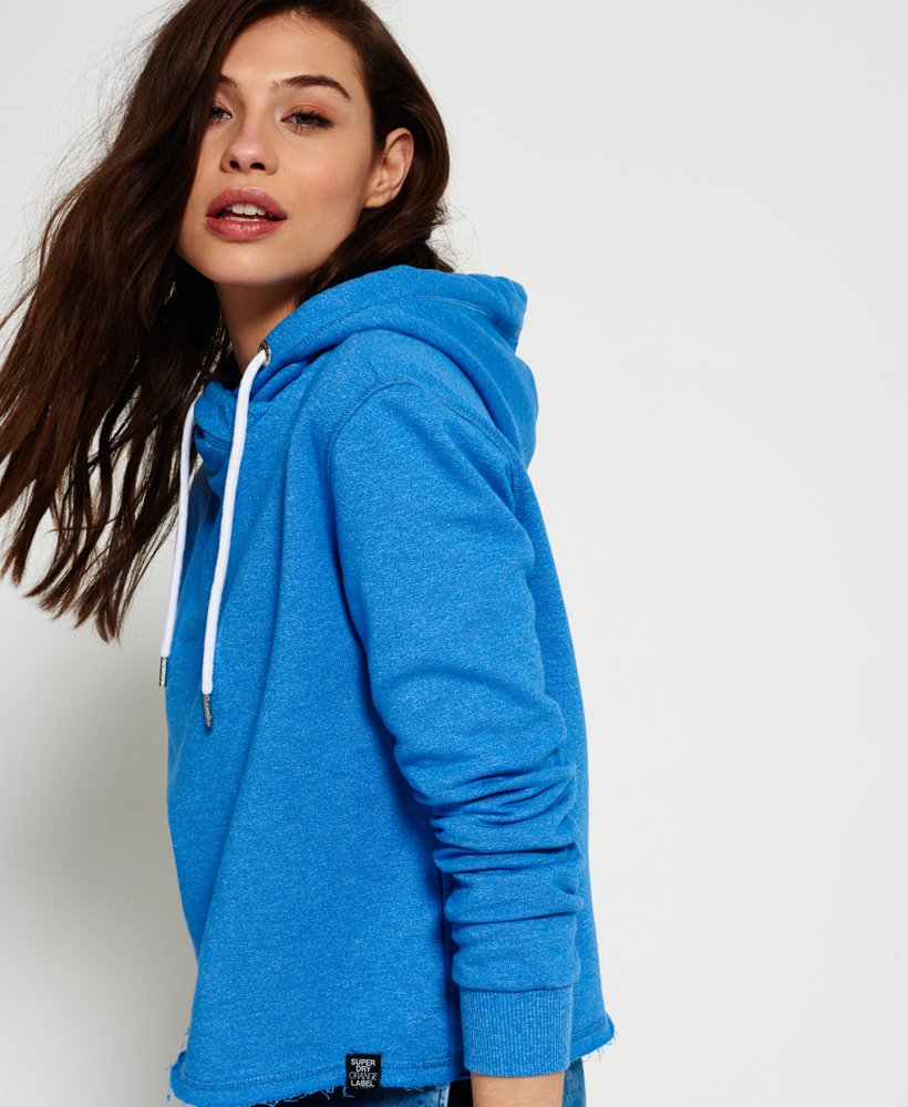 Superdry Orange Label Luxe Edition Cropped Hoodie