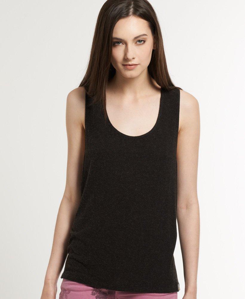 05278686da Superdry Camiseta de tirantes con sisa abierta Luxury - Tops para Mujer