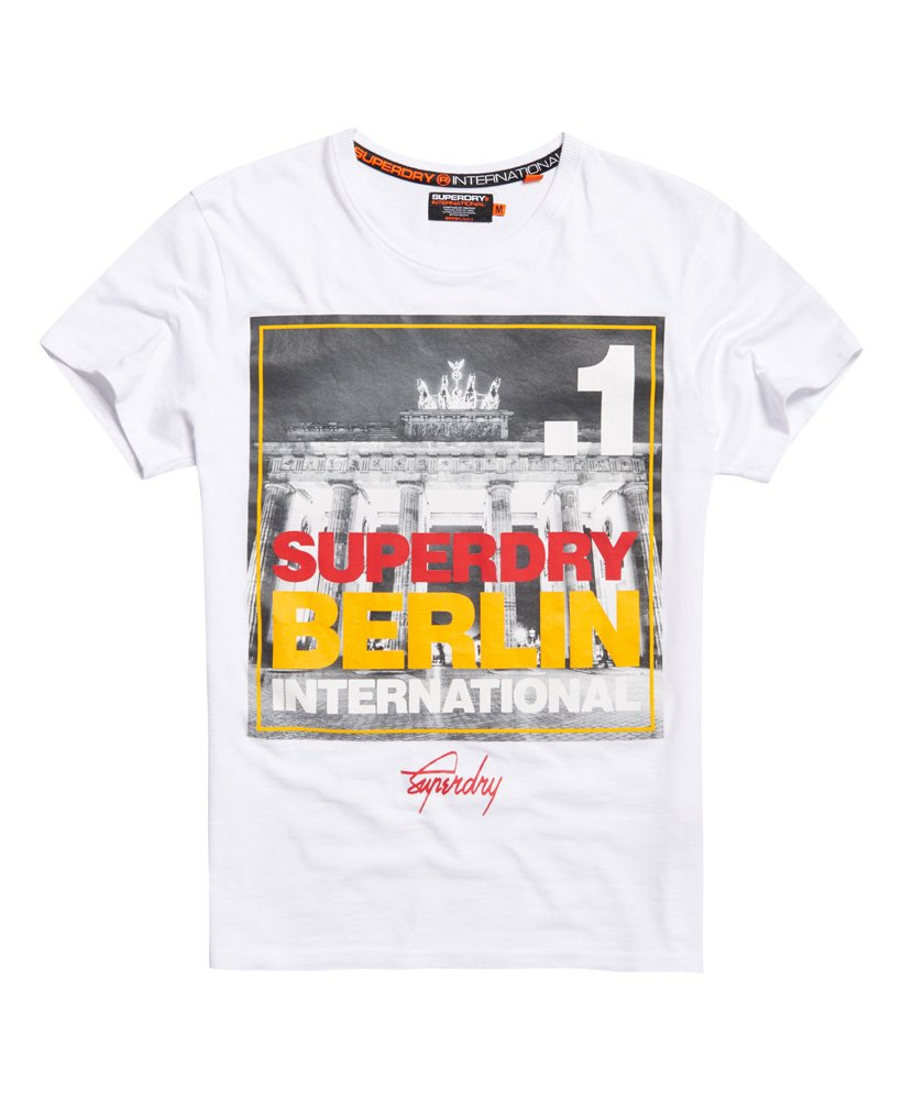 official photos d0d42 90908 Superdry Box Photo City Berlin T-shirt - Men's T Shirts