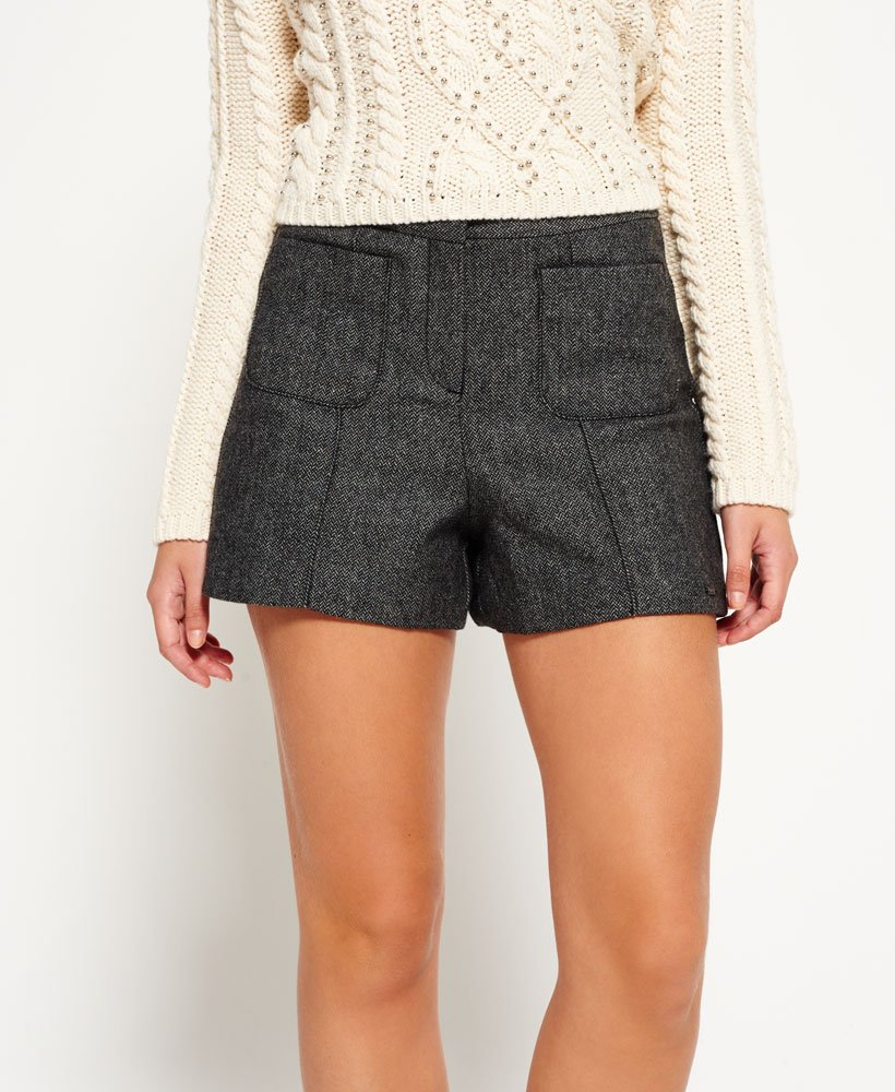 8577bc665f64a7 Superdry - Short Tweed Nordic - Shorts pour Femme