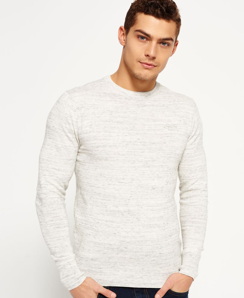 Superdry Orange Label Crew Neck Jumper Men's Sweaters
