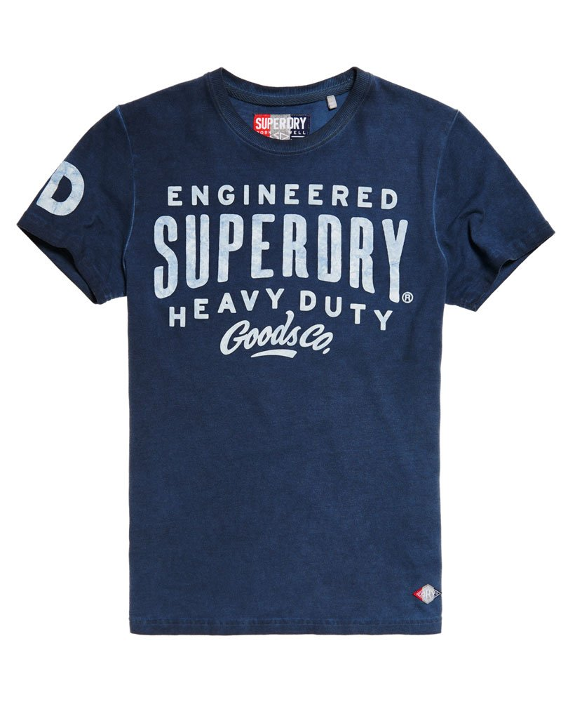 657053a8080 Superdry Work Wear Over Dyed T-shirt thumbnail 1