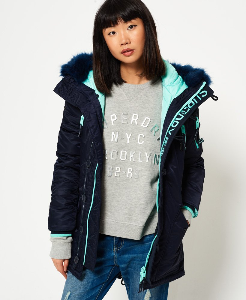 Superdry SD-L Parka Coat thumbnail 1