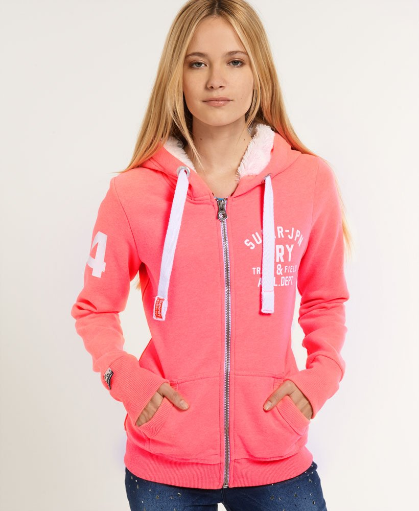 sweat 0 capuche femme superdry