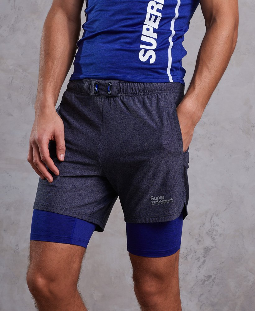 Superdry Short doublé Athletic