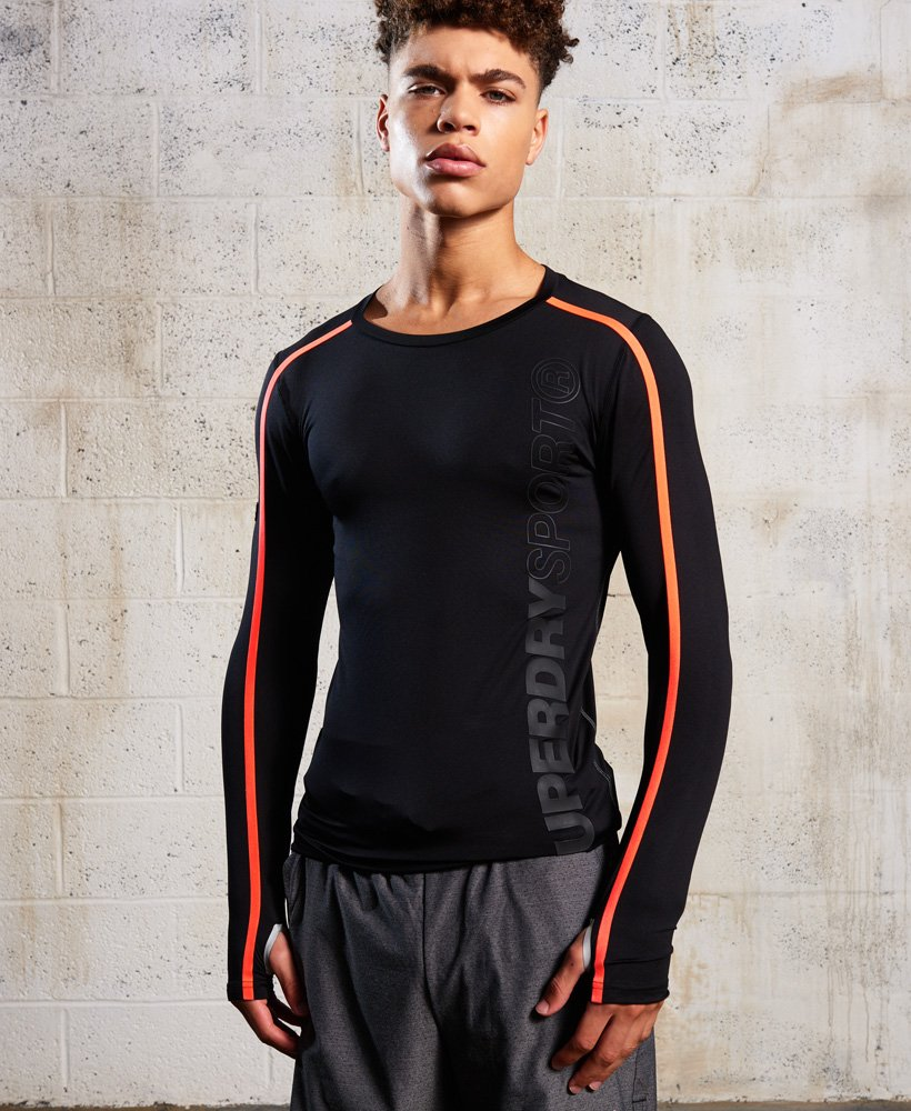 Superdry Sport Athletic Long Sleeve Top