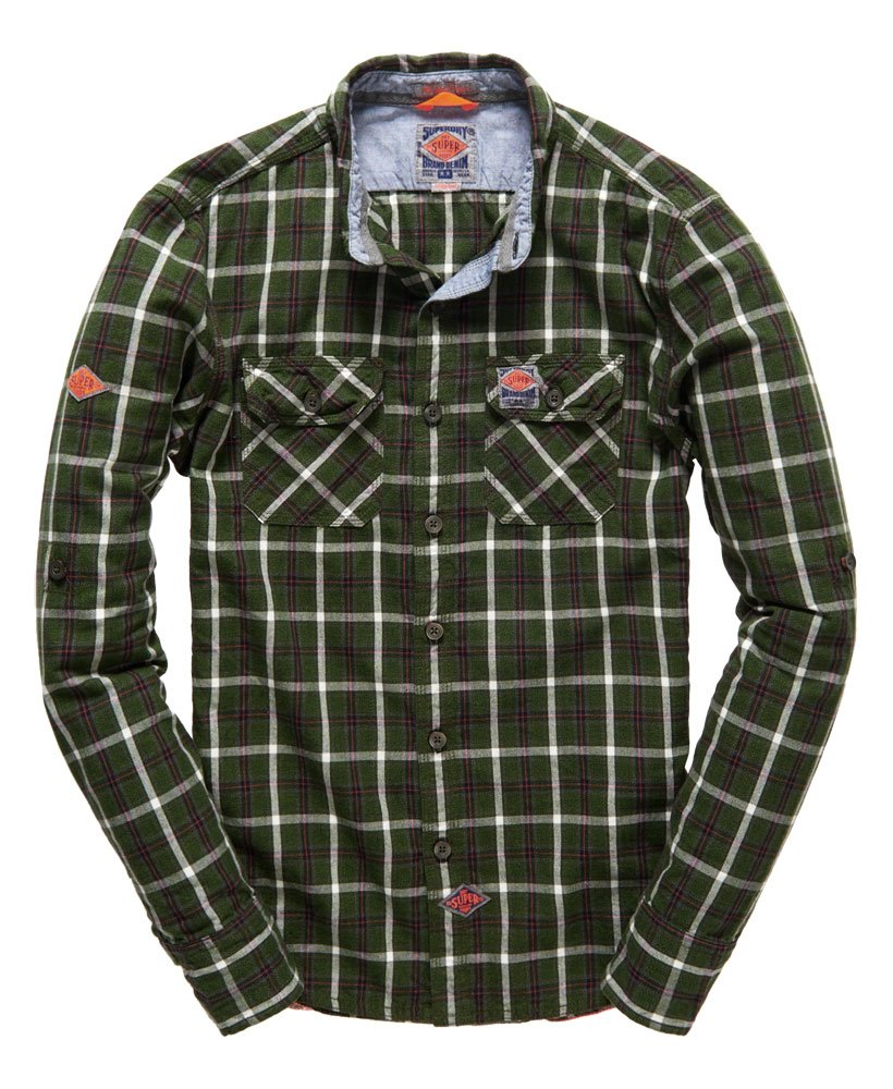 Superdry Grindlesawn Shirt 0