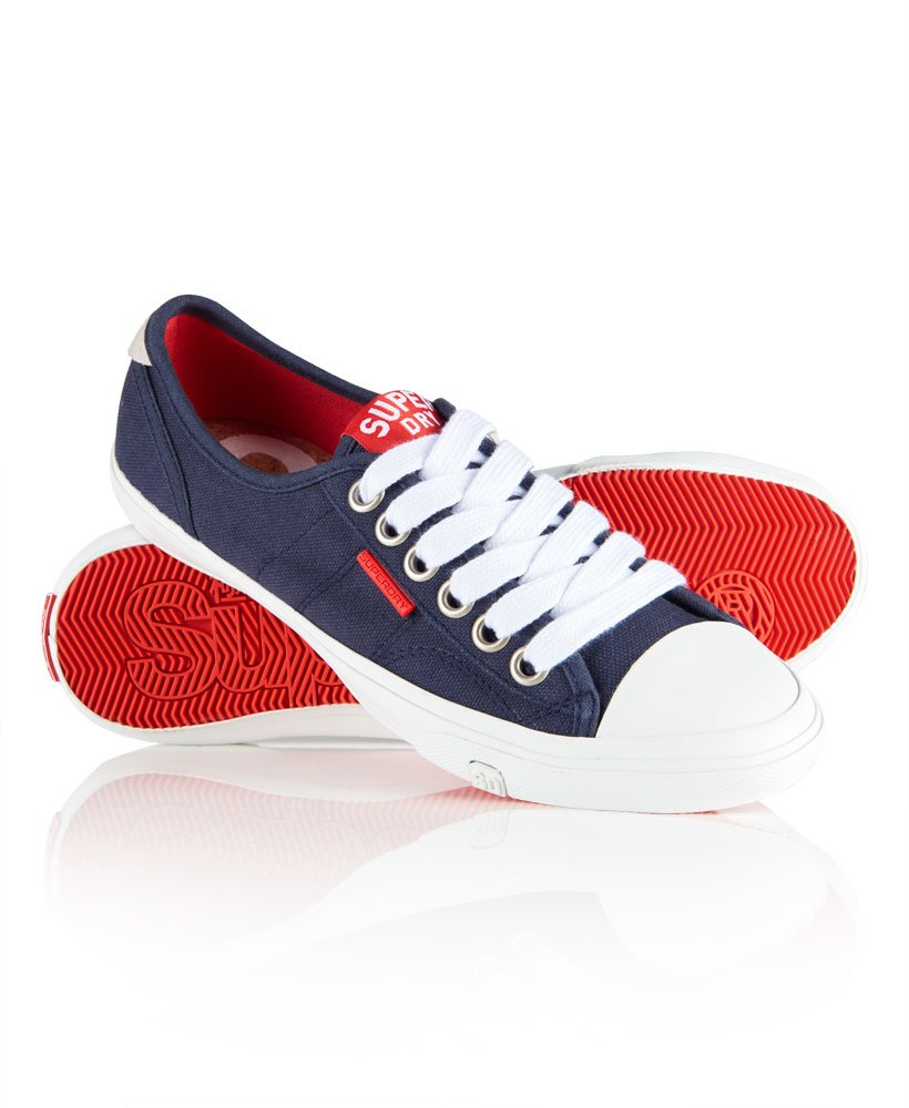 Low Pro Trainers in Navy | Superdry
