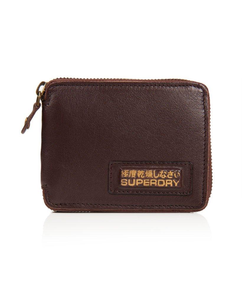 d0320c3a407 Klassieke leren portemonnee met rits,Heren,Overige accessoires