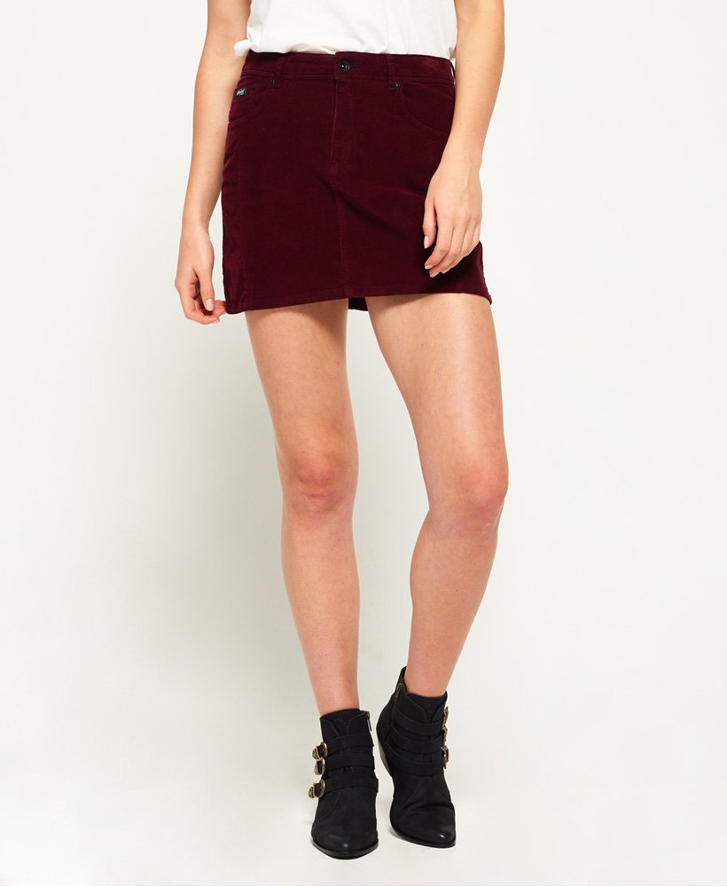Superdry Cord Mini Skirt  thumbnail 1