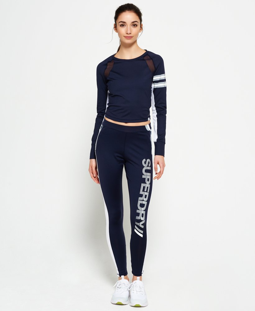 Super Legging Superdry Pantalons Femme Speed Sport F1EEw4xqRH