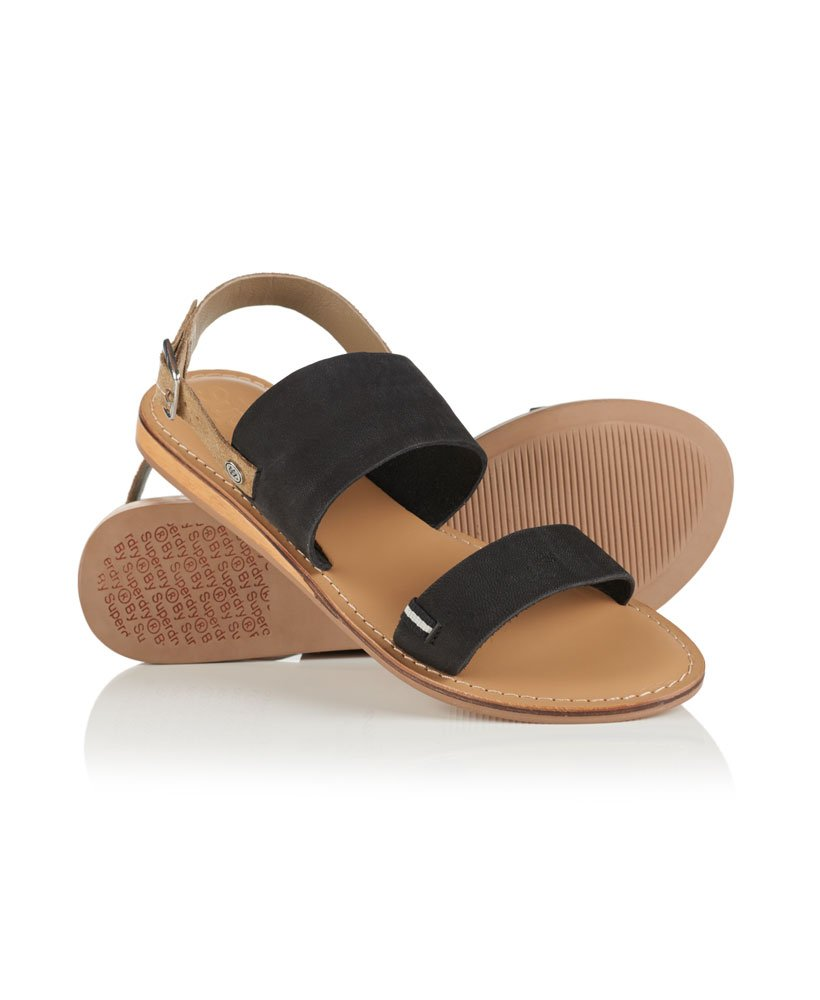 Sandbar Sandalen Damen Mit Superdry Schuhe Doppelriemen hrsQCdt