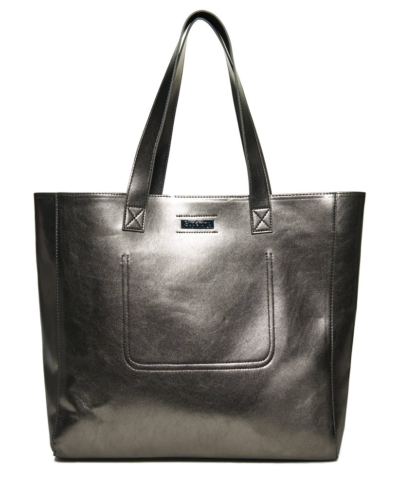 Superdry Metallic Elaina Tote Bag  thumbnail 1