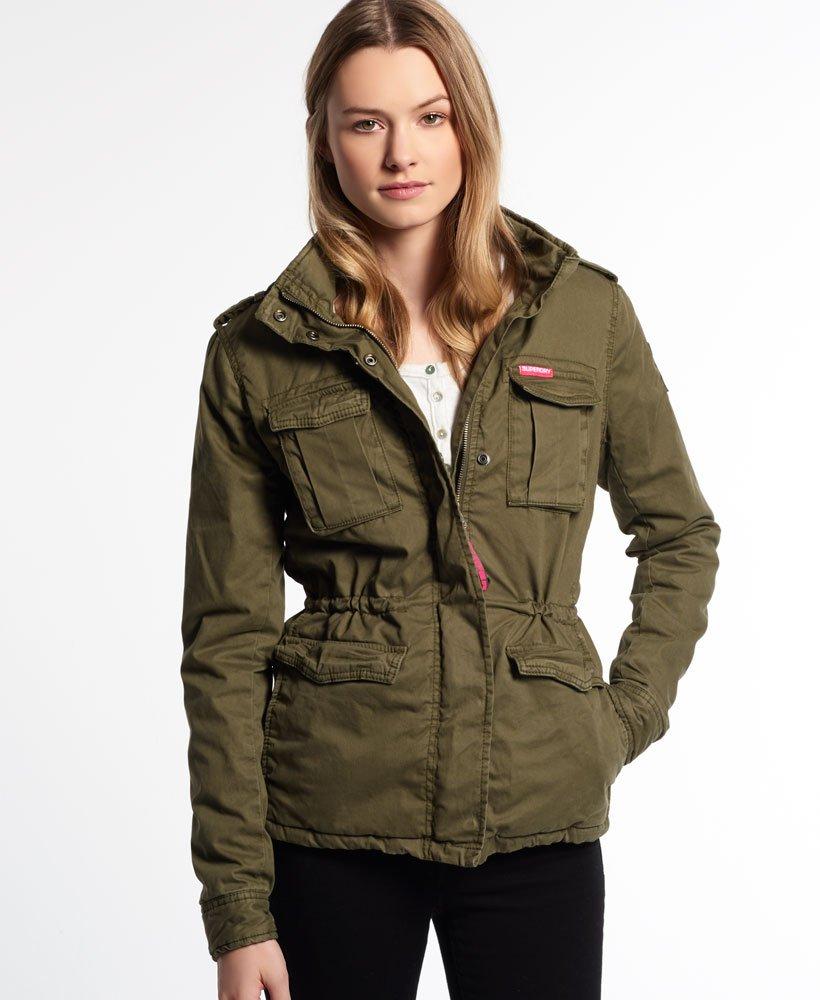 Superdry Winter Rookie Military Jacket - Women s Jackets   Coats 9d82557f7