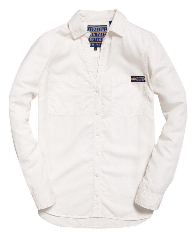 Superdry Camisa Tencel™ Mujer Sale Shirts