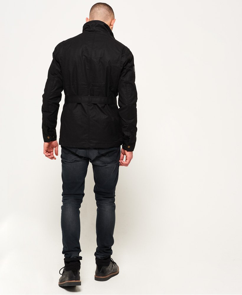 Superdry Endurance MC jakke Black Edition Herre Jakker