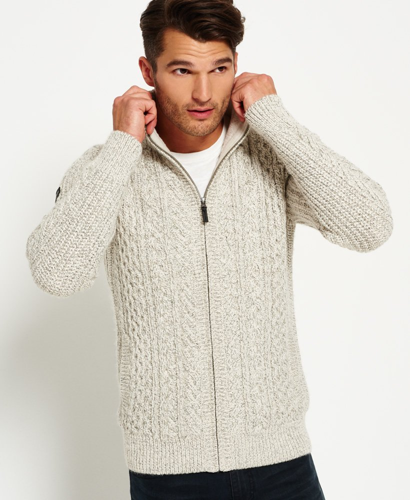 Superdry Mariner Zip Through Cardigan thumbnail 1