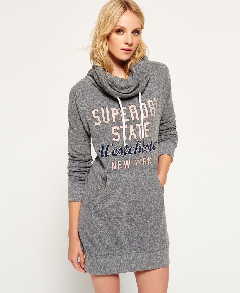 Superdry Robe sweat Westchester Robes pour Femme