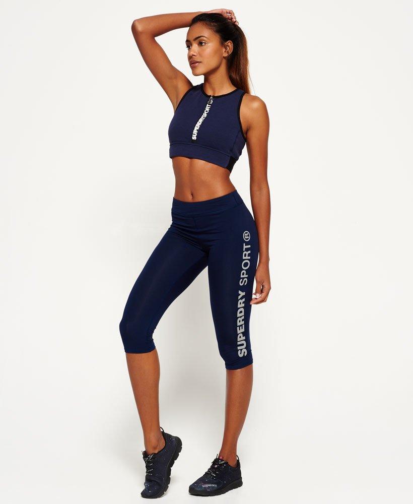 Superdry Legging court Core Gym