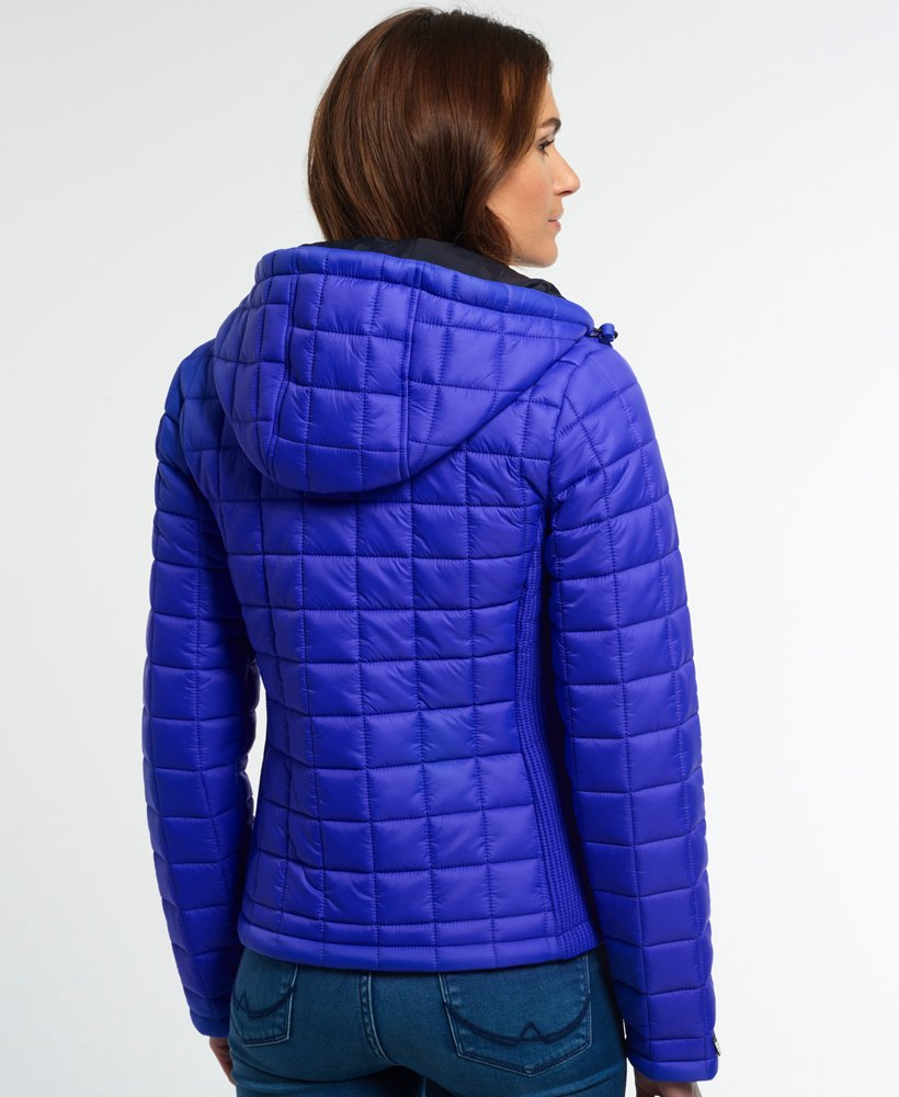 Superdry Hooded Box Quilt Fuji Jacke Damen Jacken & Mäntel
