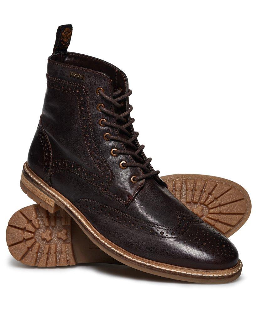 Brad Brogue Premium Stamford Boots in