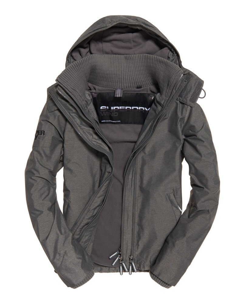 Superdry Pop Zip Hooded Arctic SD-Windcheater Jacket