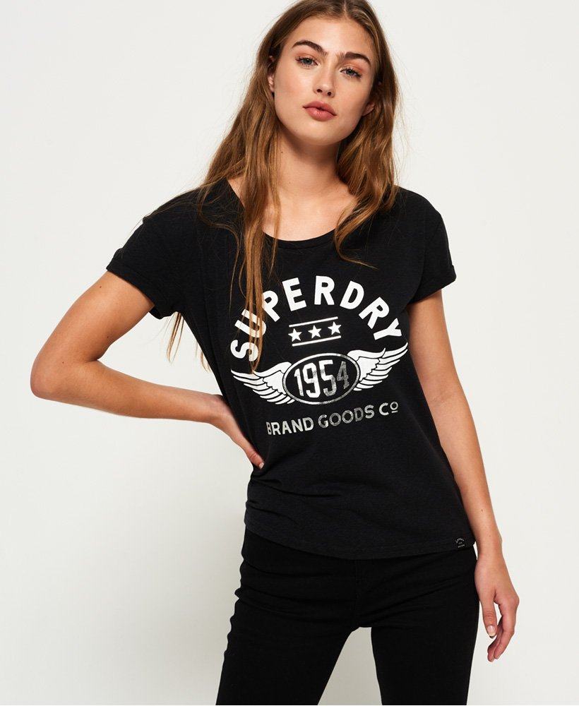 Superdry T-shirt slim boyfriend 1954 Brand Goods thumbnail 1