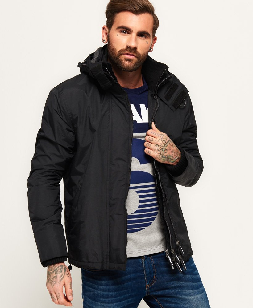 Superdry Pop Zip Hooded Arctic SD-Windcheater Jacket thumbnail 1