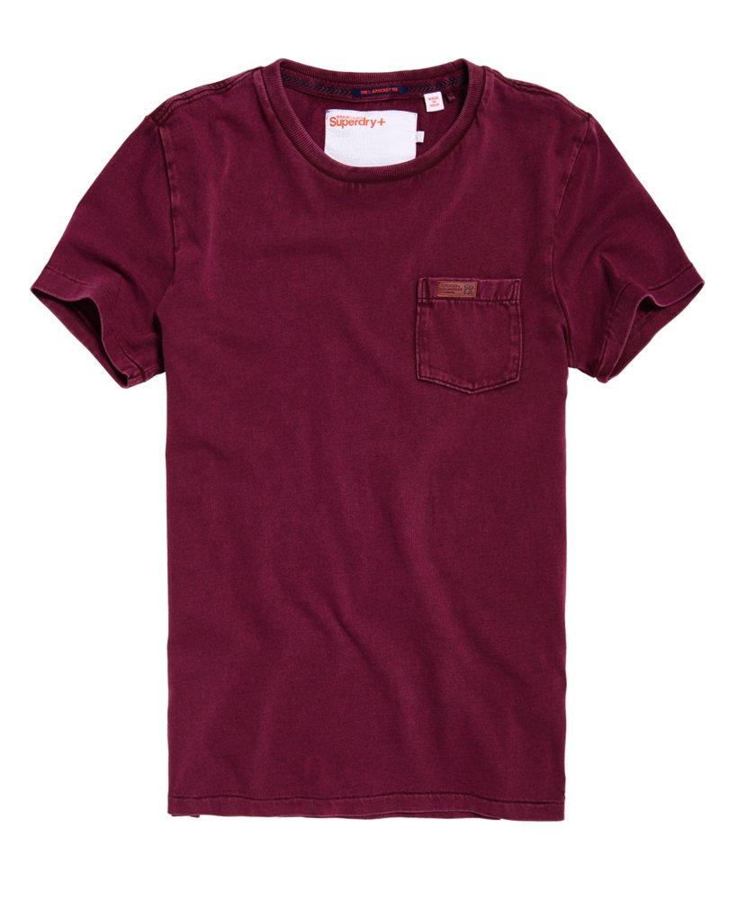 Superdry LA T shirt med lomme Herrer T shirts