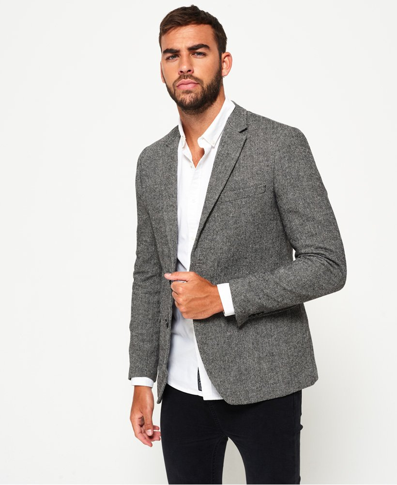 Superdry Supremacy Fine Wool Blazer thumbnail 1