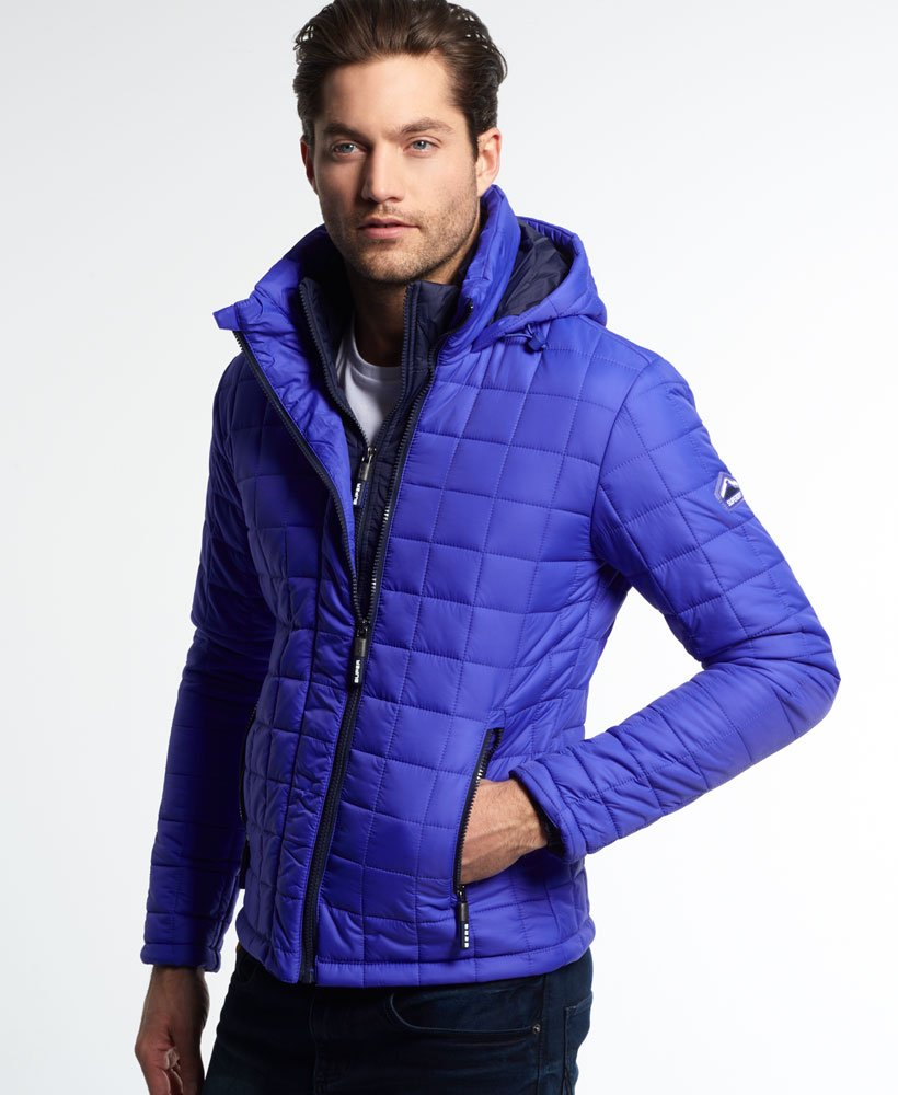 Superdry Hooded Box Quilt Fuji Jacke Herren Jacken & Mäntel