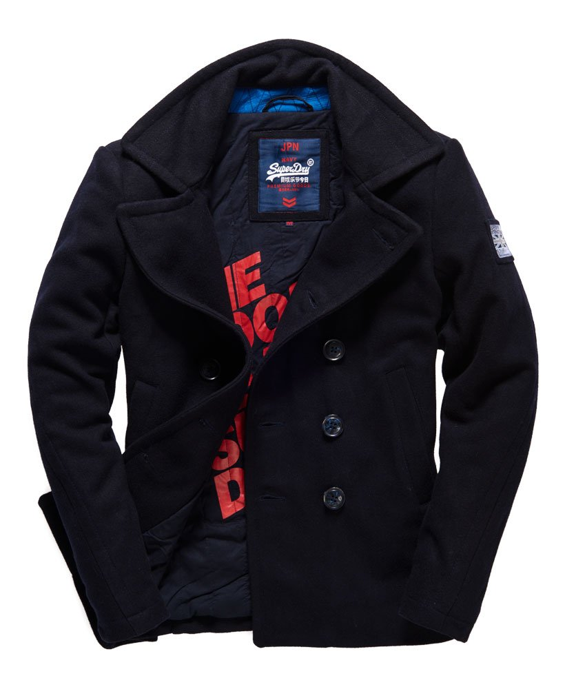 Superdry Rookie Pea Coat Men's Jackets