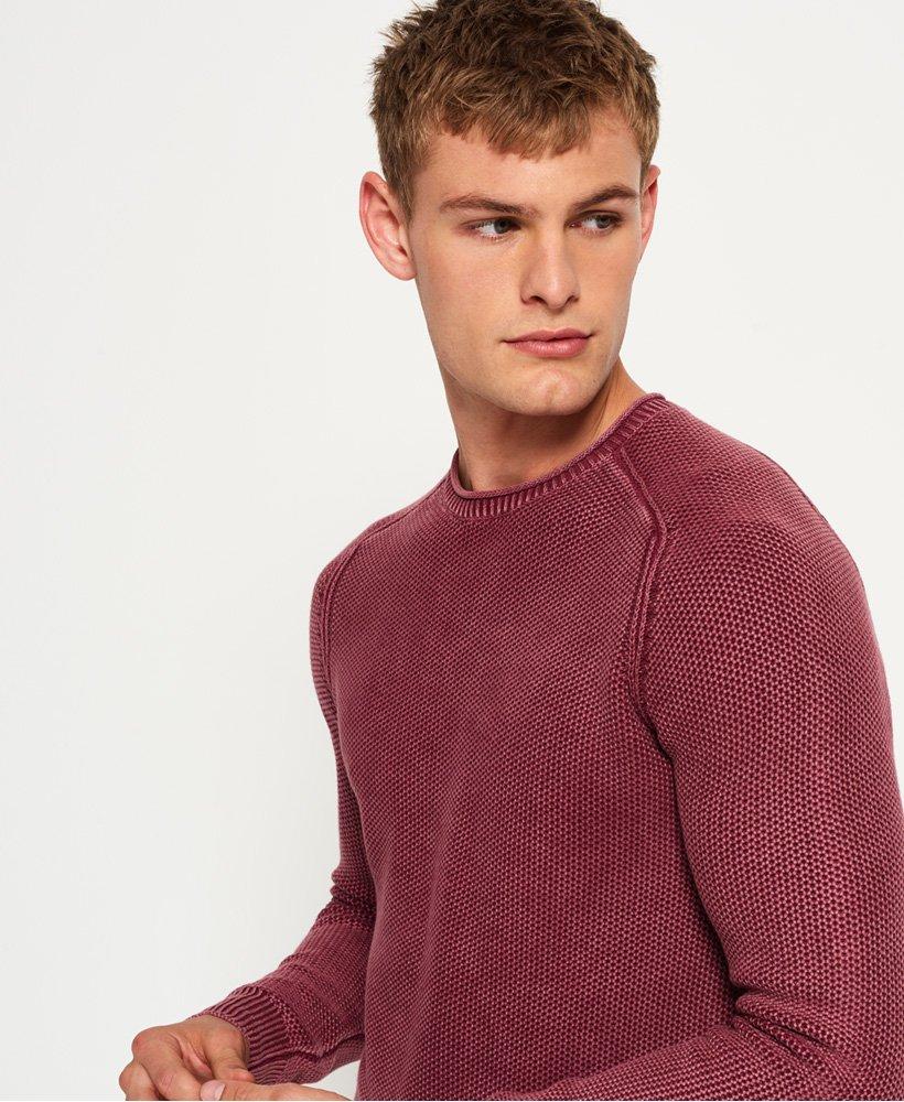 Superdry Garment Dyed LA Textured Crew genser Herre Gensere