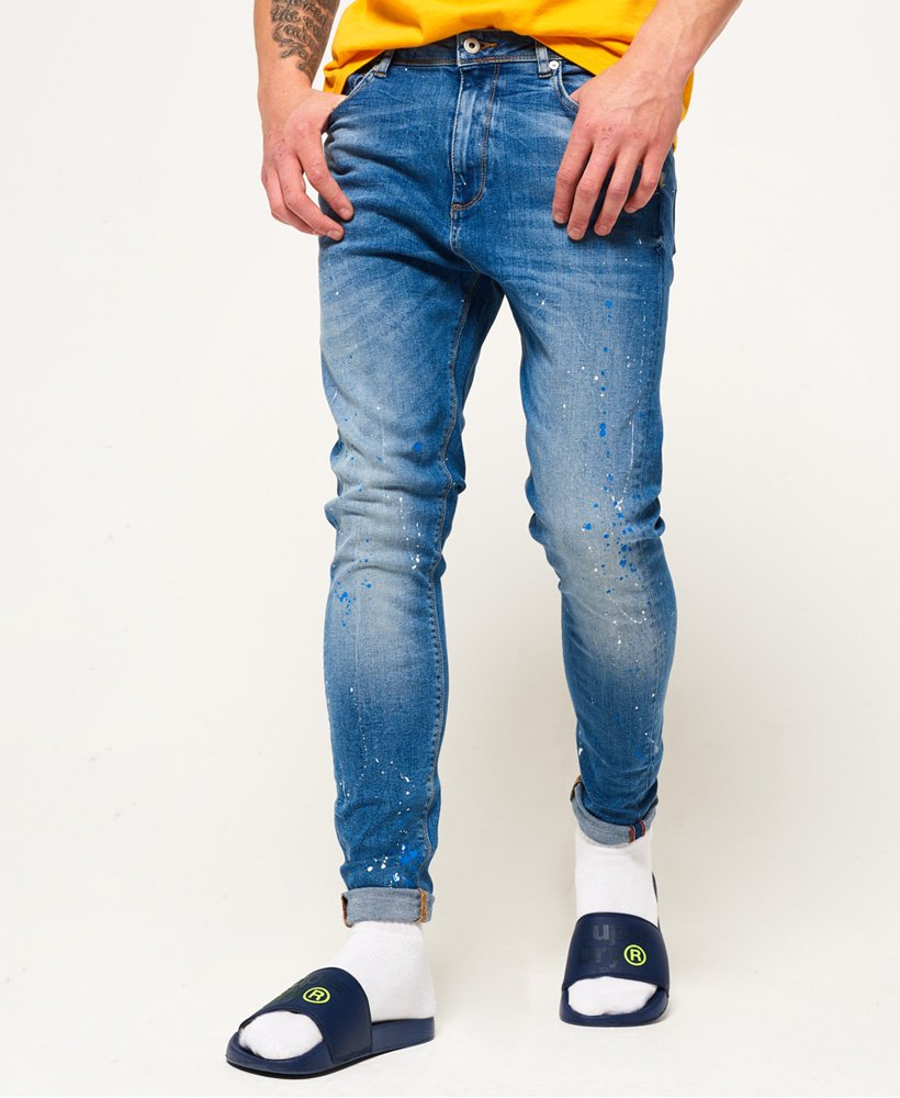 Skinny Jean Superdry Pour Spray Homme Jeans On g7xWzx6