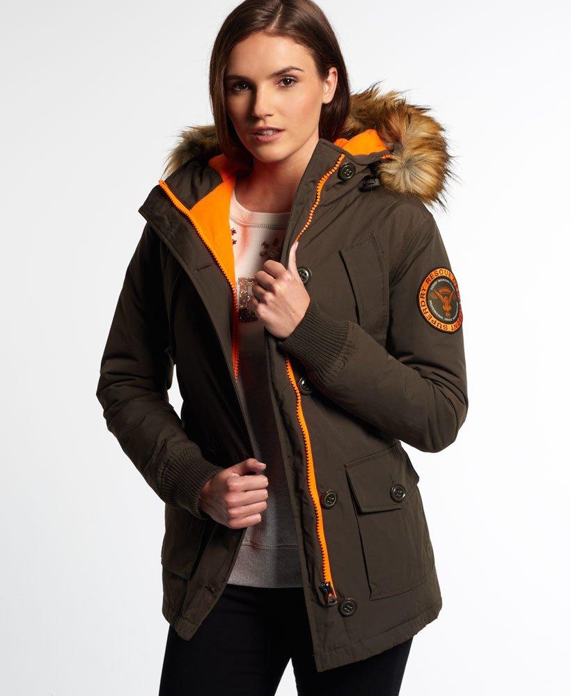 Superdry Everest Slim Polar Coat thumbnail 1