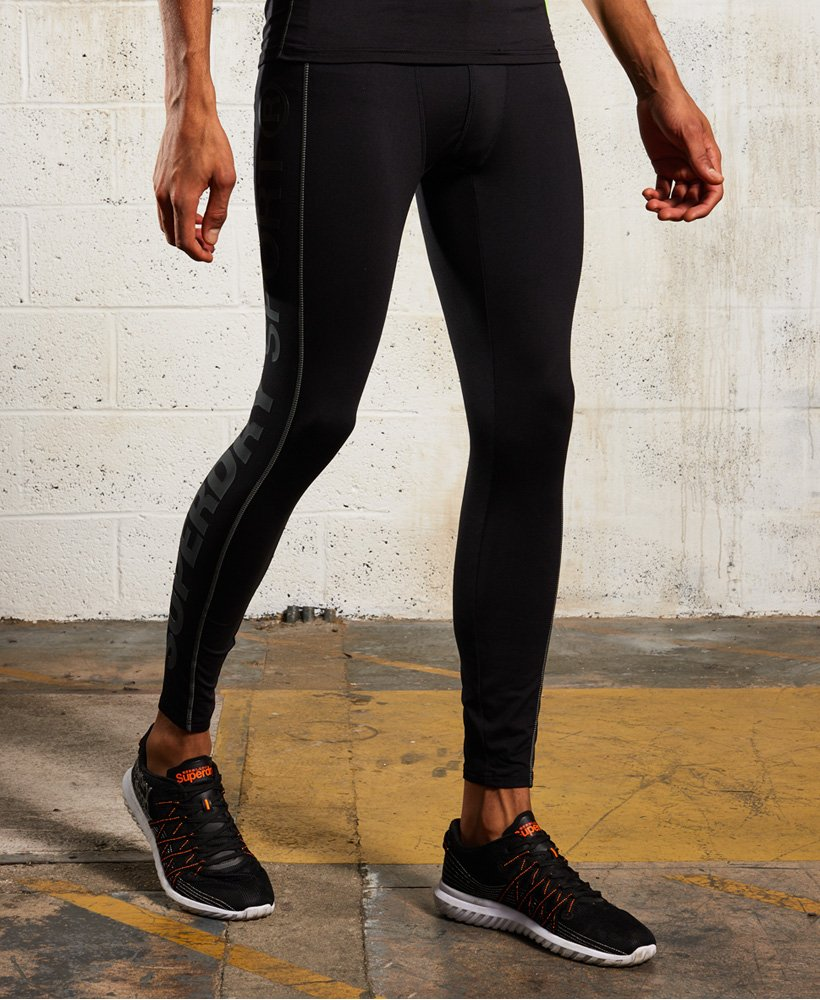 Superdry Leggings Sports Athletic Runner