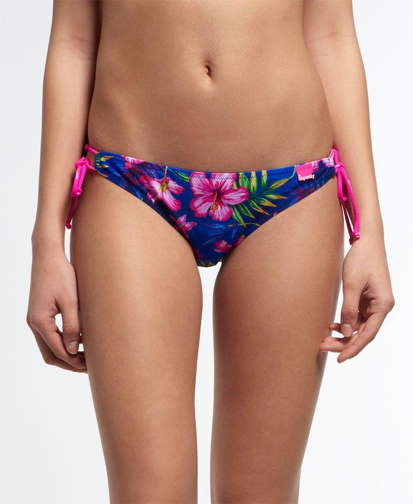 Superdry Painted Hibiscus Bikini Bottoms