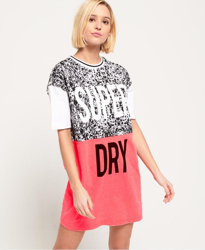 Superdry T-Shirt-Kleid im Boyfriend-Stil