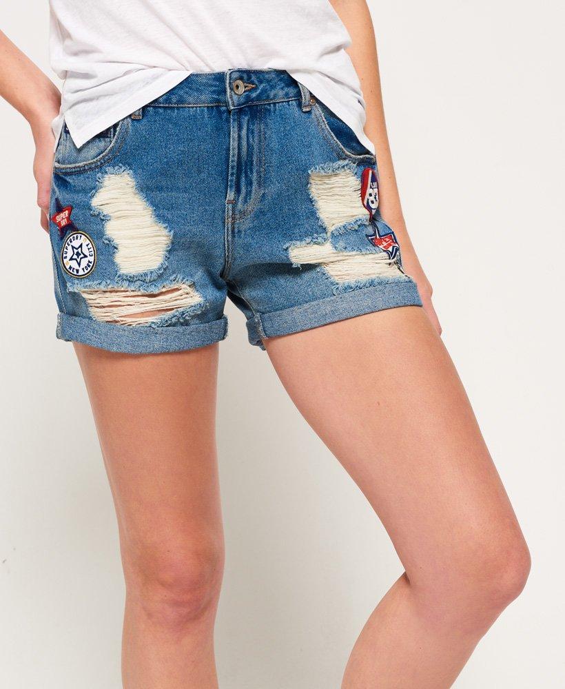 Superdry Steph Boyfriend Shorts - Women s Shorts 6a6c47427d81
