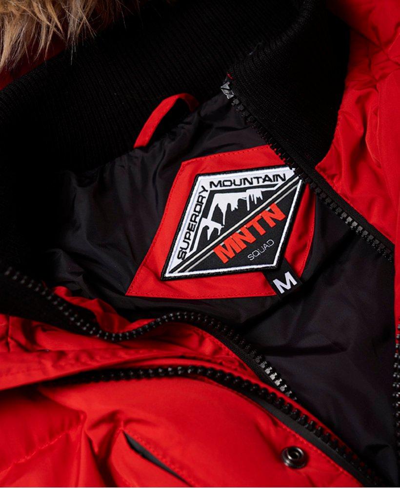 SD da uomo Superdry Expedition PARKA Rosso