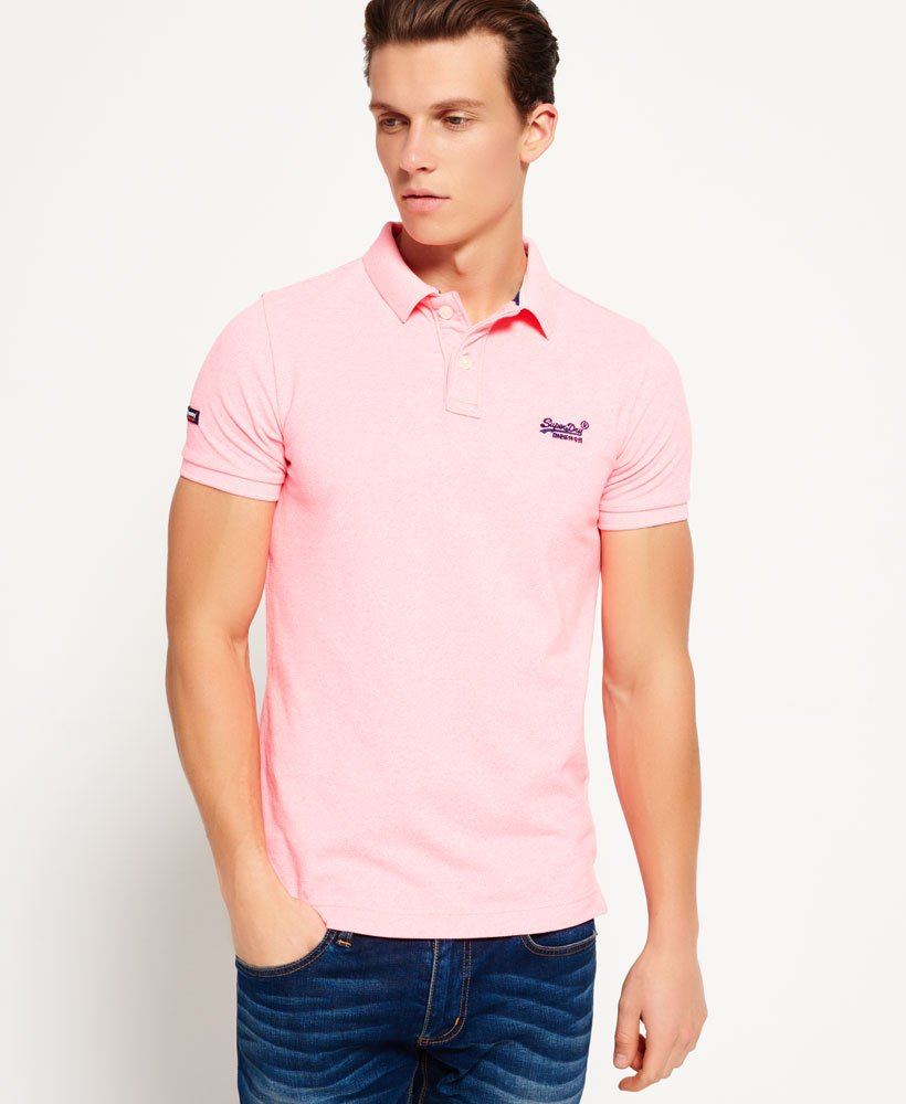 Superdry Classic Pique Polo Shirt Mens Polo Shirts