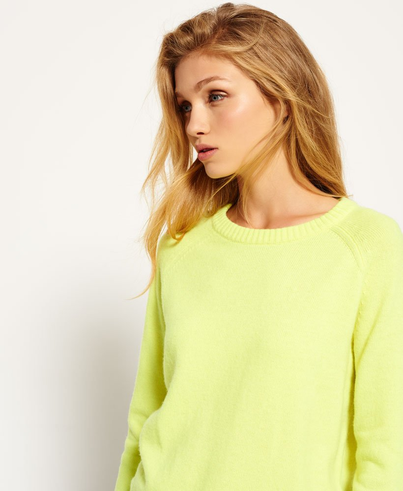 Superdry Downtown Raglan Knitted Sweater