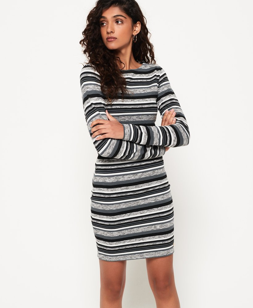 Superdry Stripe Pacific Bodycon jurk